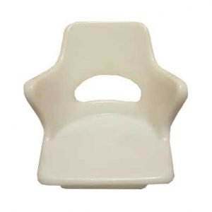 large plastic boat seat for fitting in a boat