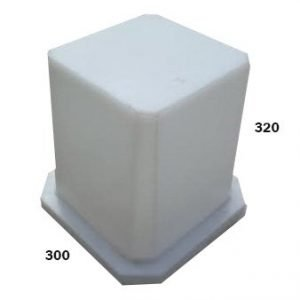 low pedstal for boat seat